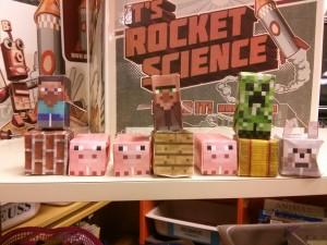 paper minecrafts