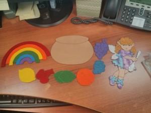 Make a Rainbow Felt
