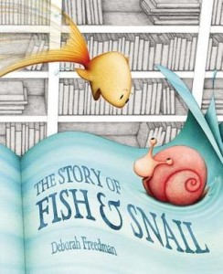 fish and snail
