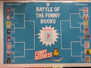 Battle of the Funny Books Poster