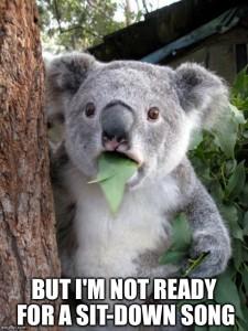 Upset Koala