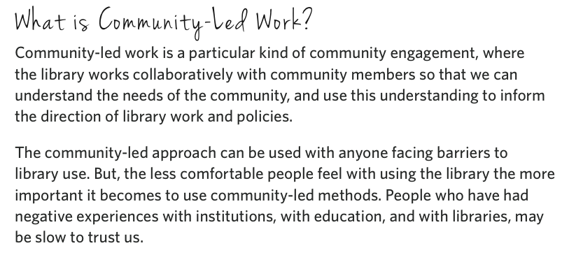 Excerpt from Connecting the Dots: A Guidebook for Working with Community