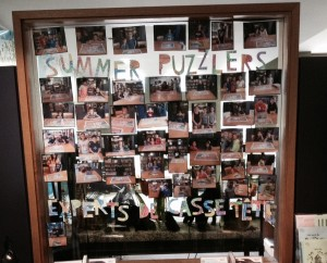 CSL Summer Puzzlers wall