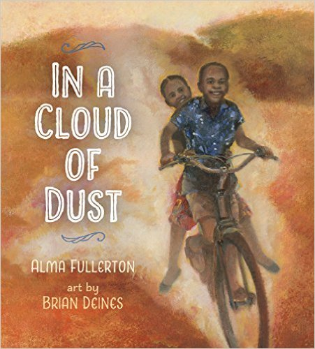 ina cloud of dust