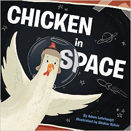 chicken in space