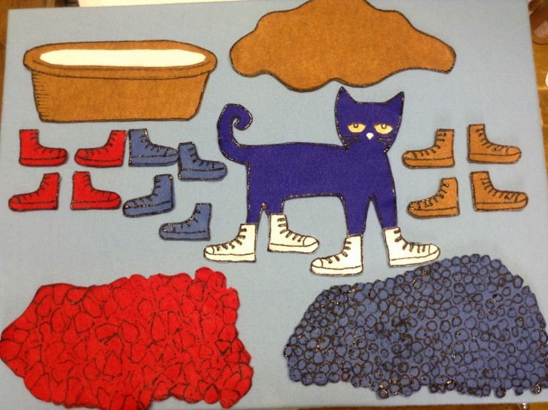 pete the cat felt story