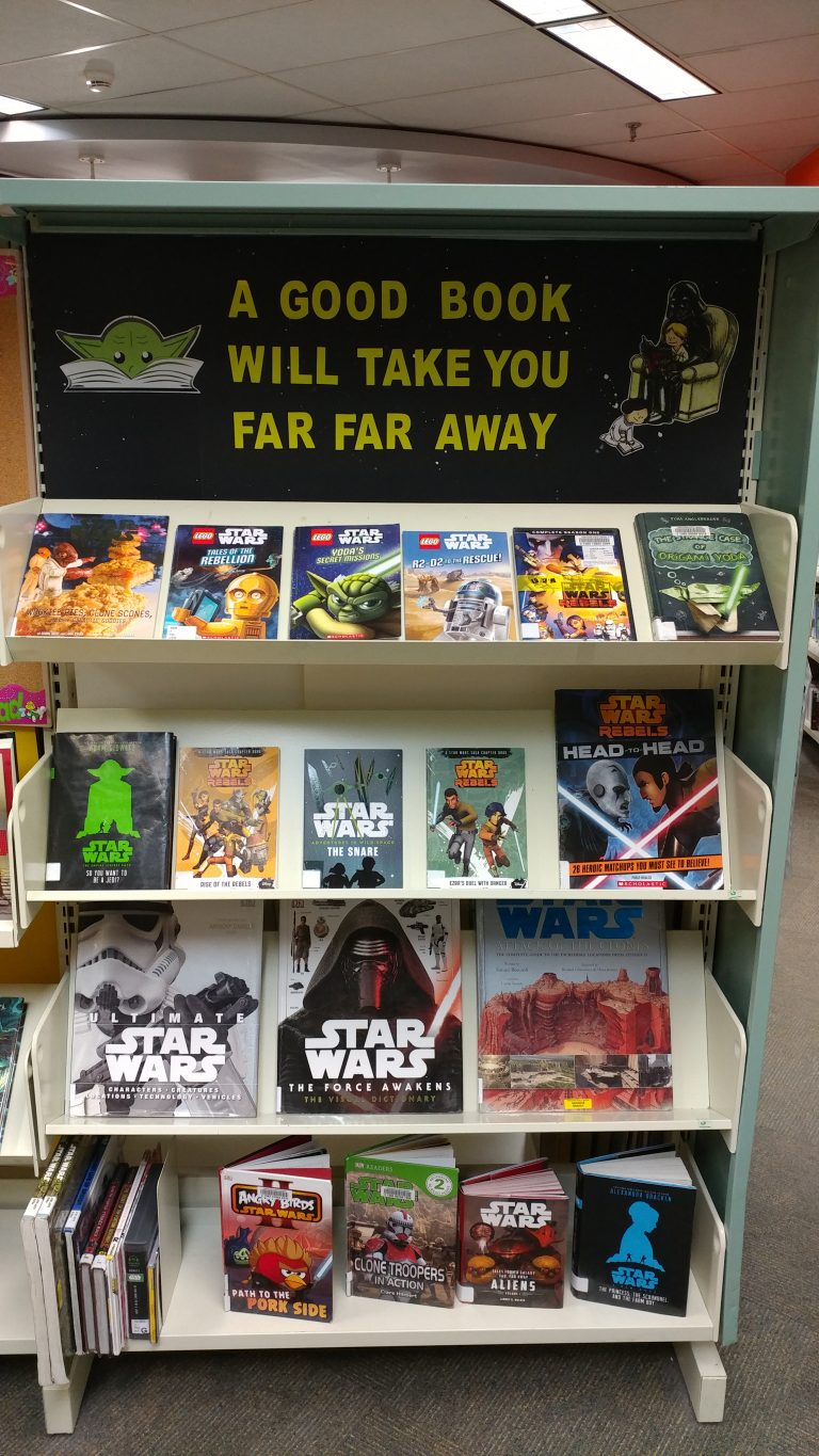 Year Calendar For Kids : May the th be with you star wars library program